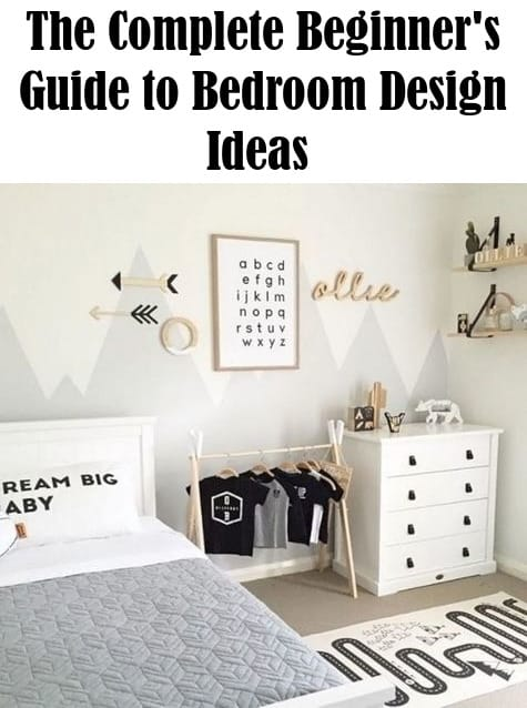 beginner's guide to bedroom design
