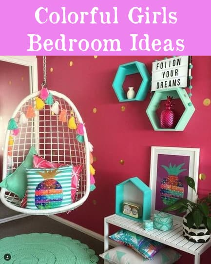 Colorful Girls Bedroom Ideas