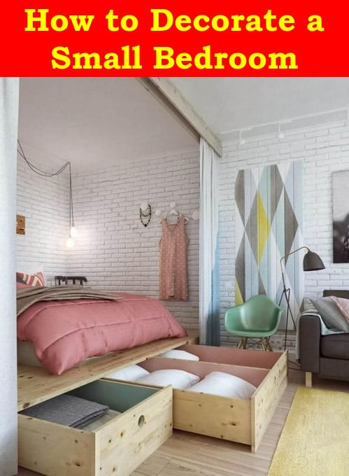 how to decorate small room