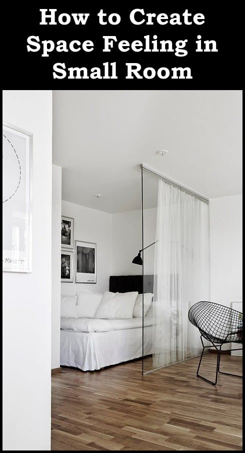 Merveilleux How To Create Space In Small Room Small Bedrooms ...
